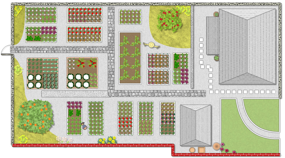 Garden planner garden plan for Planning my garden layout